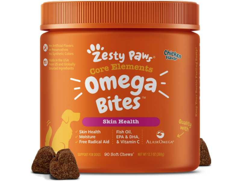 Zesty Paws Omega Soft Chews