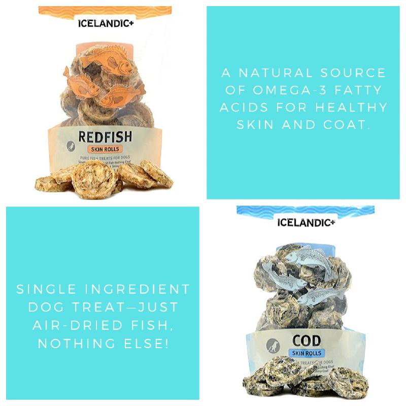 Icelandic-Fish-Treats-For-Dogs-with-Allergies-Sensitive-Skin-Coat
