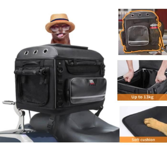 kemimoto Motorcycle Dog Carrier Bag