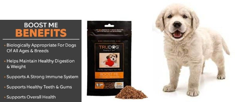 Benefits of TruDog Beef Freeze-Dried Raw Topper