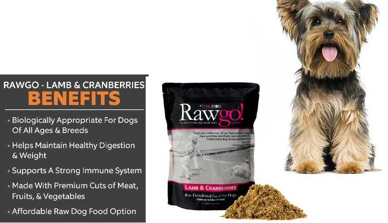 Rawgo Lamb & Cranberry Dehydrated Raw Superfood