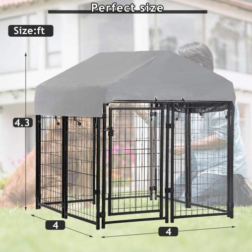 Dkeli Outdoor Dog Kennel
