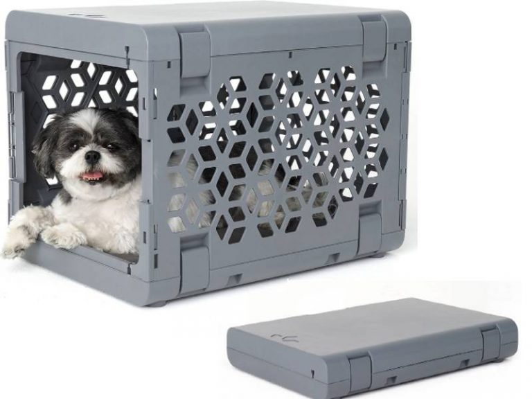 KindTail Pawd Collapsible Dog Crate For Small Dogs