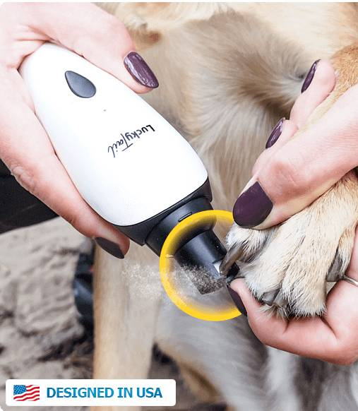 LuckyTail's dog claw nail grinder