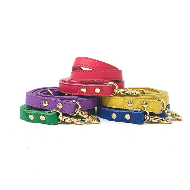 Muttropolis Cali Soft Leather Dog Leash