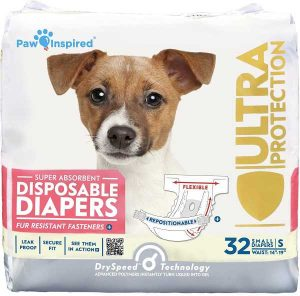 Paw Disposable Dog Diapers