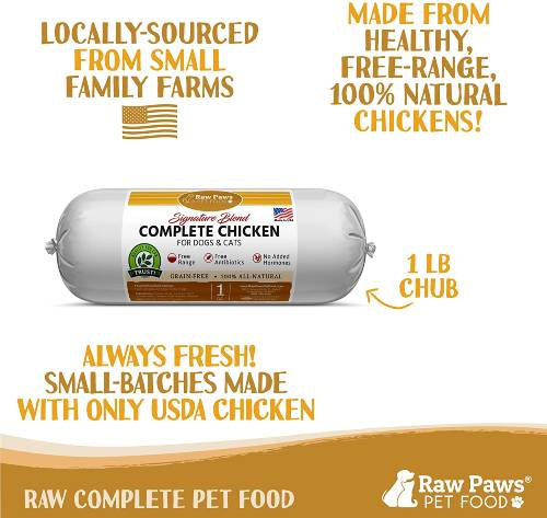 Raw Paws Raw Frozen Dog Food picture