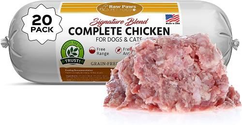Raw Paws Raw Frozen Dog Food