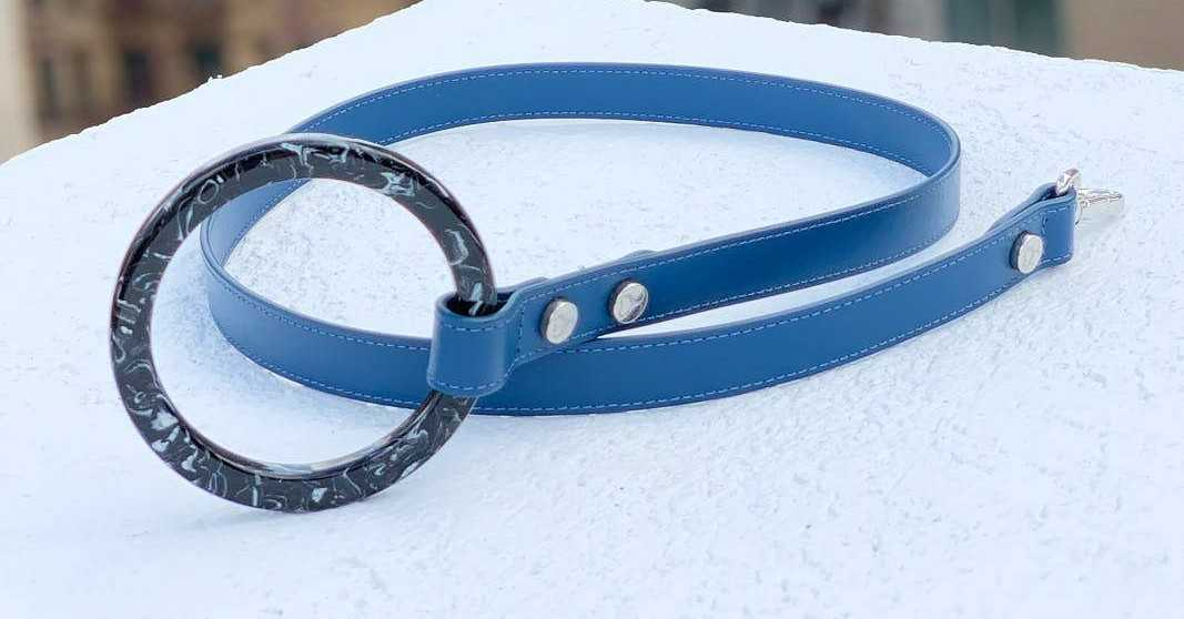 Water resistant & Scratch resistant Leather Leash