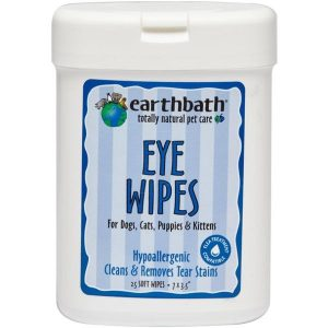 Earthbath Specialty Dog Eye Wipes For Tear Stains