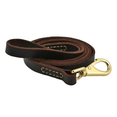 Tall Tails Genuine Leather Dog Leash