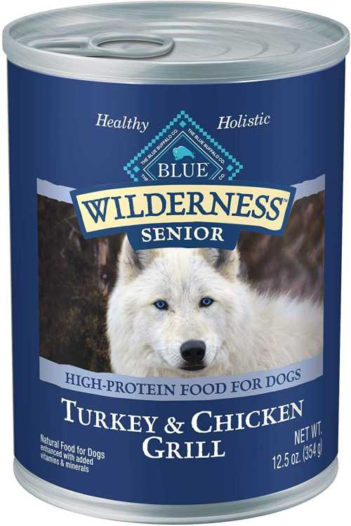 Blue Buffalo Canned Dog Food for Senior Dogs