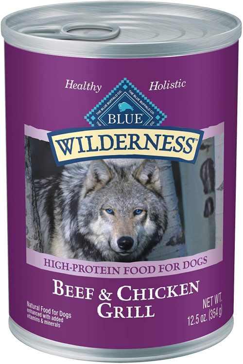 Blue Buffalo High Protein Wet Dog Food