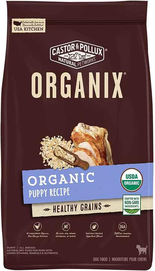 Castor Pollux Puppy organic dog food