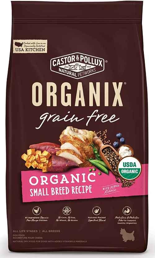 Castor & Pollux Small Breed Organic Dog Food