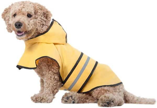 ashion Pet Dog Raincoat with Hood