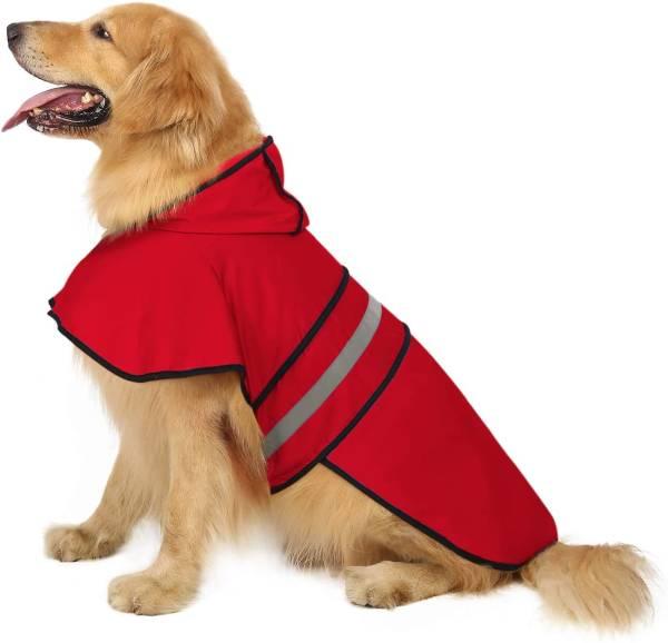 HDE Dog Raincoat with Hood