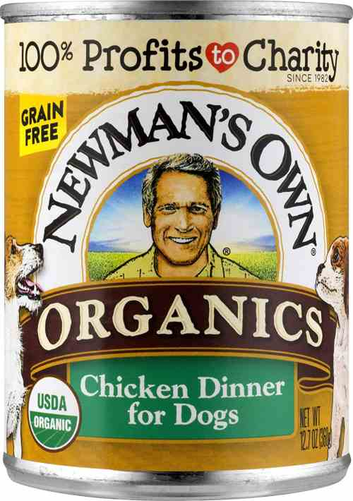 Newman's Organic Dog Food