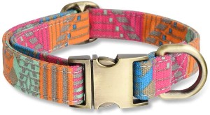 Personalized Metal Buckle Dog Collar