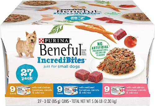 Purina Canned Dog Food for Small Dogs