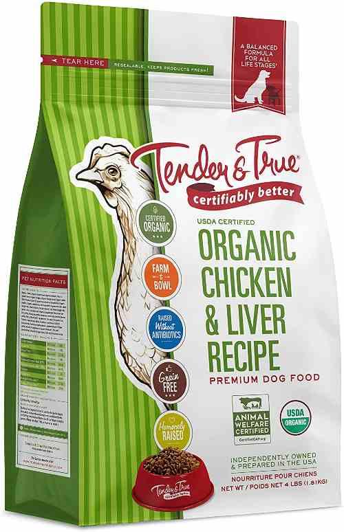 Tender & True Organic Dog Food