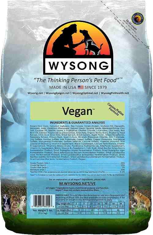Wysong Vegan Dog Food