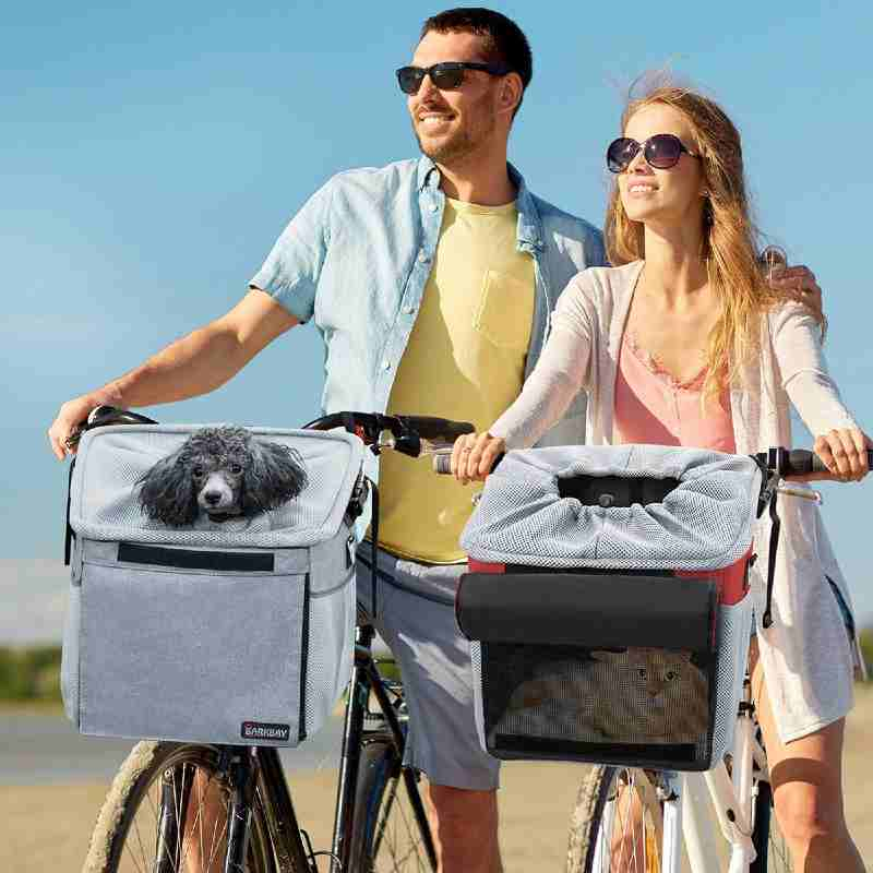 All-in-one Bicycle dog carrier basket bag
