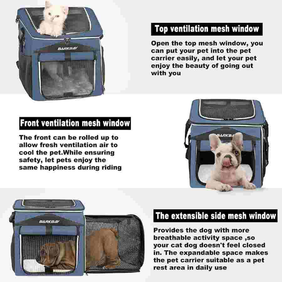 Barkbay Dog Carrier For Bicycle