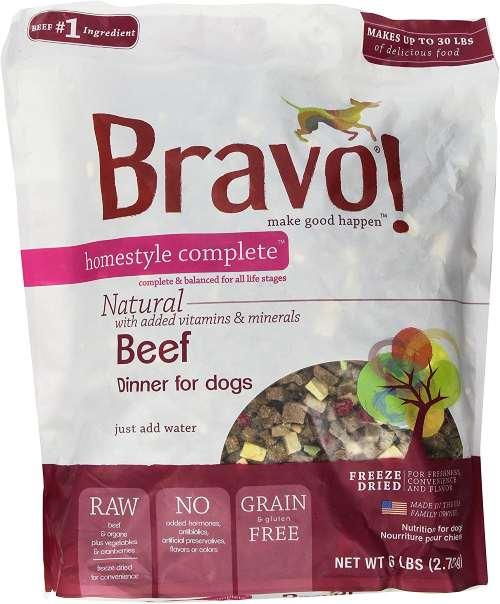 Bravo Freeze Dried Dog Food
