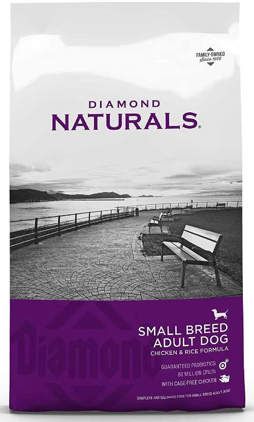 Diamond Naturals Dog Food for small dogs