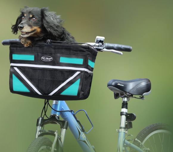 Travelin Pet Pilot Dog bike carrier