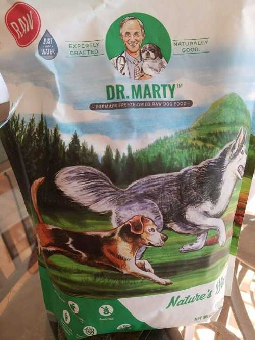 Dr Marty's Freeze Dried Dog Food