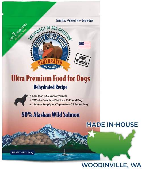 Grizzly Super Foods Dehydrated Dog Food