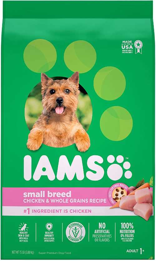 IAMS dog food for small dogs