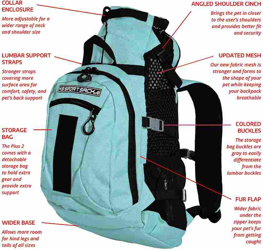 K9 Sport Sack Dog Carrier Backpack For Hikers