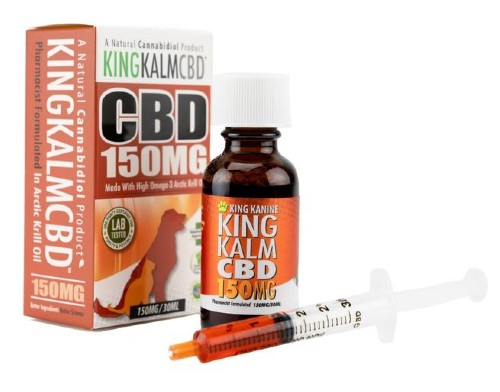King Kalm CBD Oil for Dogs