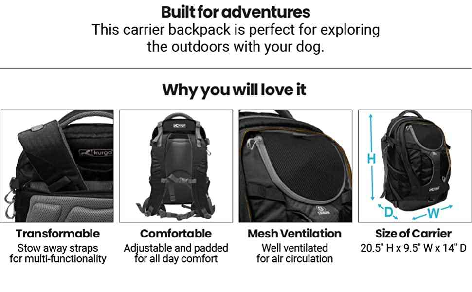 Airline Approved Dog Carrier Backpack
