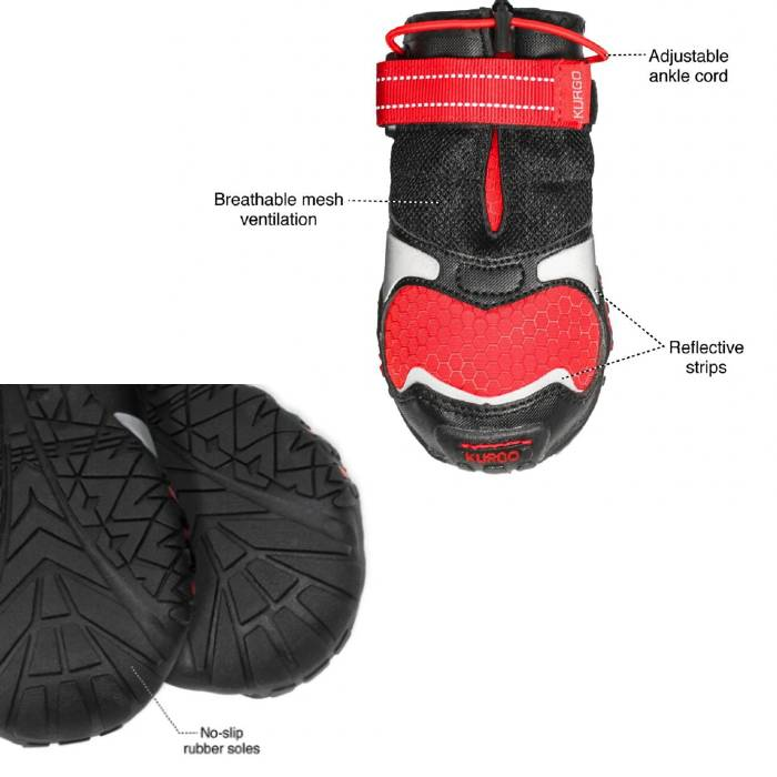 Features of Kurgo Dog Shoes