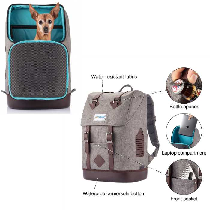Kurgo K9 Rucksack Dog Backpack Carrier