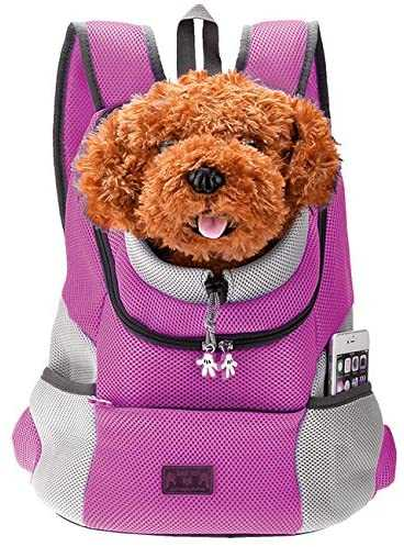 Mogoko Dog Carrier Backpack, Head Out Design for Hiking