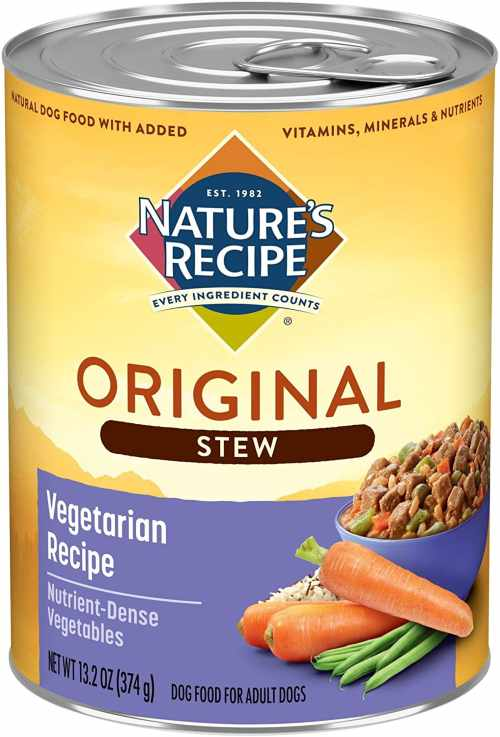 Nature's Recipe Wet Dog Food for Skin Allergies