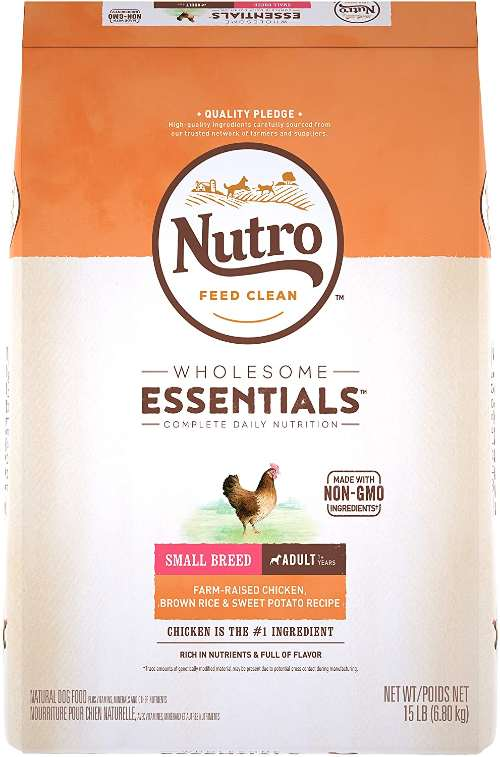 Nutro Dog food for small dogs