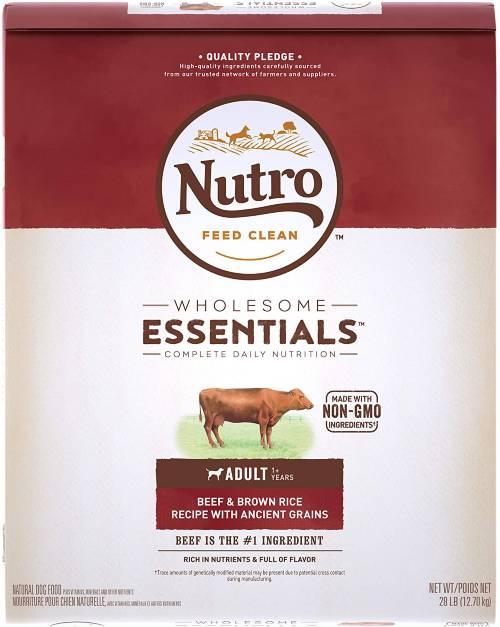 Nutro Dog food with grain