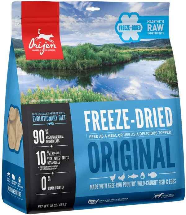 Orijen Freeze Dried Dog Food