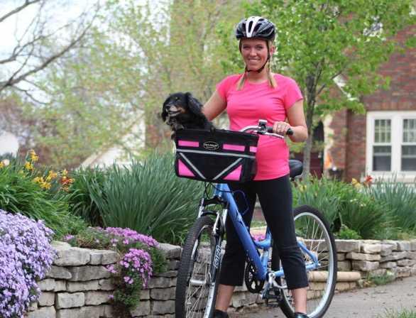 Pet Pilot Dog bike carrier basket