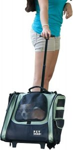 Dog Carrier Backpack and roller bag
