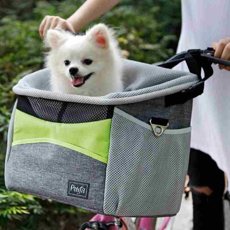 Petsfit Front Bike Basket Dog Carrier