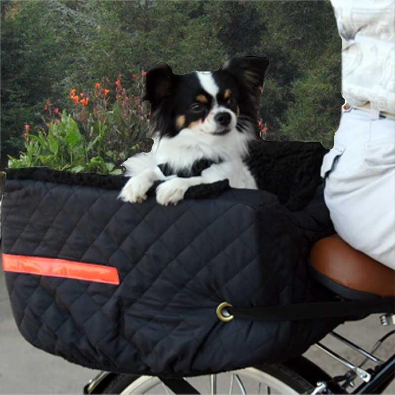 rear bike basket for dog