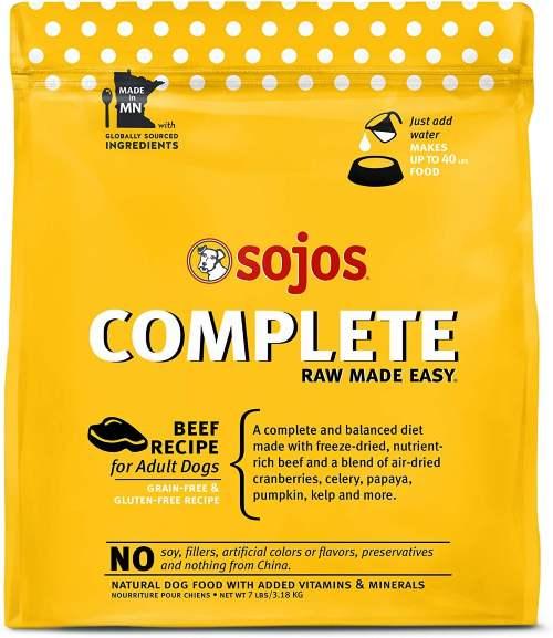 Sojos Freeze Dried Dog Food