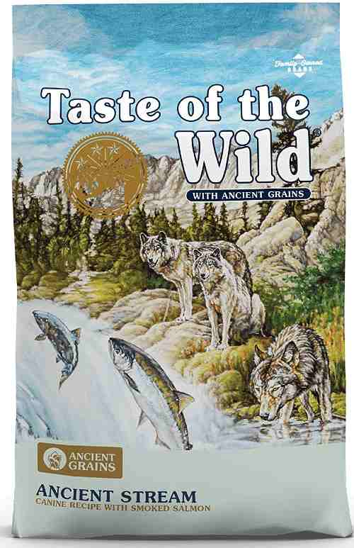 Taste of the Wild Dog food with grain